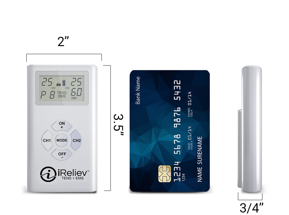 Personal TENS units - small, powerful and portable!