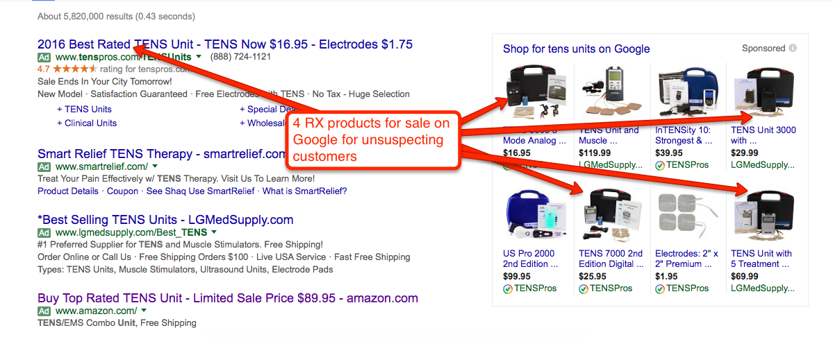 RX-on-Google-shopping