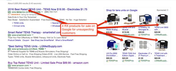 RX-on-Google-shopping