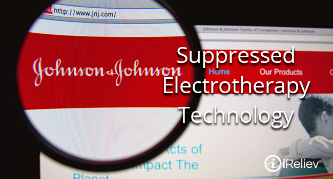 Johnson and Johnson tried to suppress advancement of electrotherapy