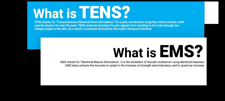 The science TENS EMS V2