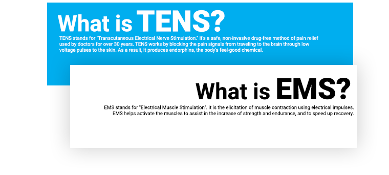 The science TENS EMS V2