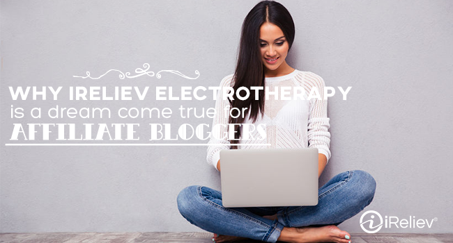 Earn profit by becoming an iReliev affiliate blogger