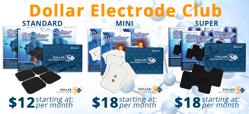 Affordable TENS Unit Pads with the Dollar Electrode Club