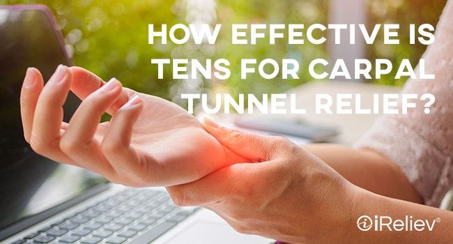 how effective is TENS for carpal tunnel relief?