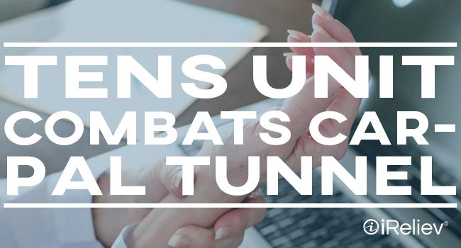 TENS Unit combats carpal tunnel