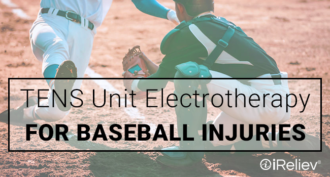 TENS unit electrotherapy for baseball injuries
