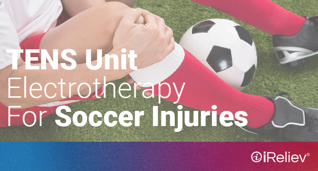 tens unit electrotherapy for soccer injuries
