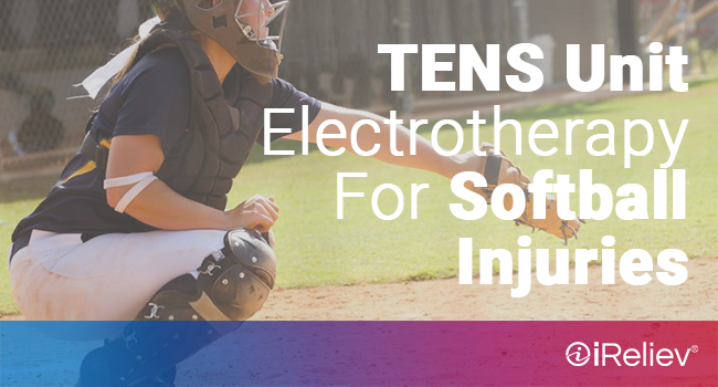 tens unit electrotherapy for softball injuries