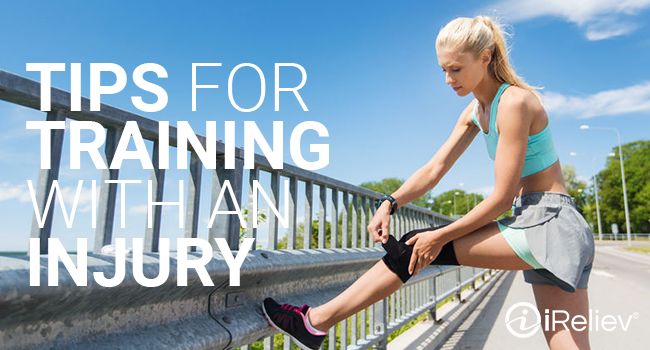 Tips for training with an injury