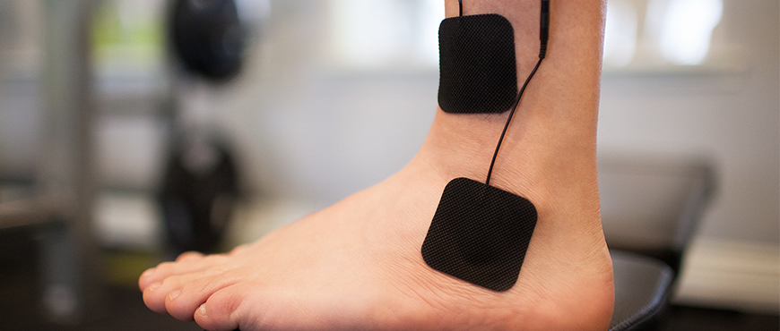 TENS Therapy for Ankle Sprains