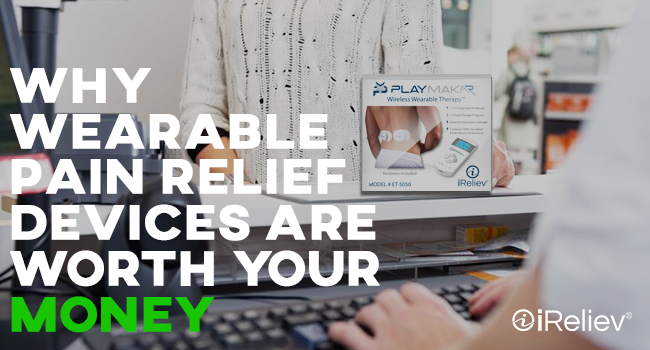 Why wearable pain relief devices are worth your money